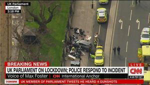 إغلاق البرلمان البريطاني بعد إطلاق نار وإصابة عدة أشخاص