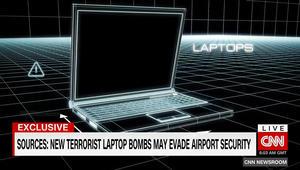 حصريا على CNN.. مصادر: متفجرات بحواسيب محمولة قد تتفادى الرصد بالمطارات