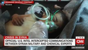مصادر لـCNN: المخابرات الأمريكية اعترضت اتصالات بين جيش الأسد وخبراء كيماويين