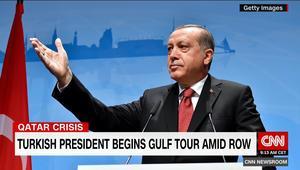 أردوغان: مسؤولية السعودية أكبر لحل أزمة الخليج.. وعلاقة تركيا مع قطر تطورت مؤخراً