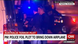 """أستراليا: إحباط مخطط إرهابي لإسقاط طائرة.. والمؤامرة مستوحاة من """"الإسلاميين"""""""