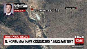 انفجار بقوة 6.3 درجة على مقياس رختر بكوريا الشمالية