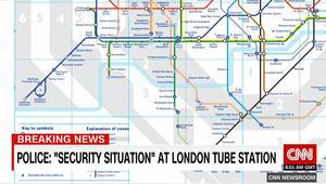 """هيئة النقل في لندن: إغلاق جزء من خطوط قطارات الانفاق بسبب """"وضع أمني"""""""