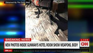 صور من داخل غرفة مطلق النار في لاس فيغاس