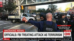 """مصادر أمنية: شهود عيان أكدوا بإفاداتهم أن سائق الشاحنة صرخ """"الله أكبر"""""""
