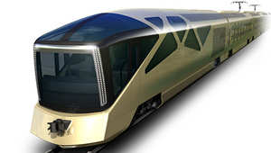 """بالصور..مصمم سيارات """"فيراري"""" يبتكر قطاراً فاخراً"""