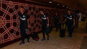 مغادرة فريق السد القطري لمطار الرياض