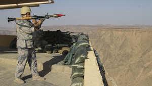 بالصور.. رباط القوات السعودية بجبال نجران على الحدود مع اليمن