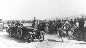 الجنرال سير إدموند اللنبي، يدخل القدس في غربة من طراز فوكسهول ستاف