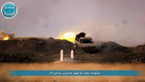 استهداف مطار أبوالظهور العسكري بالرشاشات الثقيلة