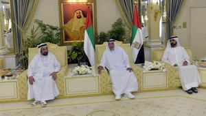 شاهد.. الشيخ خليفة يستقبل حكام الإمارات وأولياء العهد بمناسبة عيد الفطر