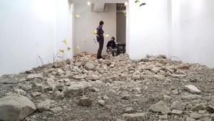 حطام من أرض الحرب في سوريا..يتحول لهذا العمل