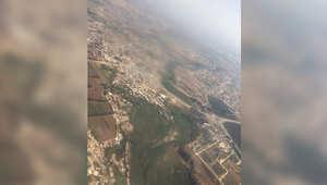 صورة من الجو للعاصمة الجزائرية
