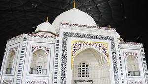 """بعيد الاستقلال الهندي.. تاج محل يزين مدينة """"ليغو"""" في دبي"""
