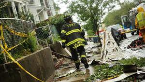 أمريكا: إصابة 34 بحريق ضخم بنيويورك