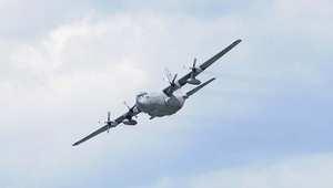 أرشيف- طائرة نقل عسكرية من طراز C-130