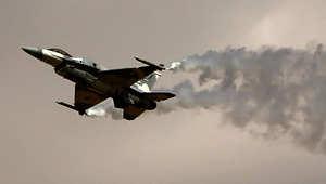 مقاتلة من طراز F16 تابعة لسلاح الجو الإماراتي