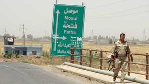 من موقع دفاعي للبيشمرغة.. فريق CNN يشهد ما لا يقل عن 12 غارة للتحالف على مدينة الموصل