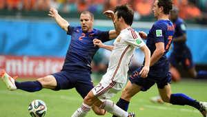 مباراة كأس العالم الثالثة .. إسبانيا وهولندا بالصور