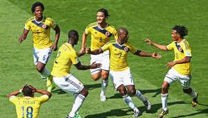 لقطات من مباراة كولومبيا واليونان بكأس العالم