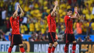 بالصور.. مباراة البرازيل والمكسيك بمونديال 2014