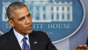 من الارشيف: الرئيس الأمريكي يلقي كلمة في البيت الأبيض