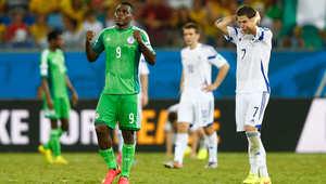 كأس العالم 2014: البوسنة والهرسك تترك المونديال بخسارتها أمام نيجيريا بهدف وحيد