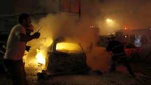 لبنان: إصابات بانفجار سيارة قرب مبنى البلدية والجامع الكبير ببلدة عرسال