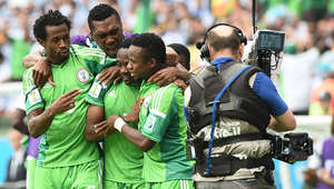 """وحل """"نسور"""" أفريقيا في المركز الثاني بـ4 نقاط، نتيجة التعادل السلبي مع منتخب إيران، ثم الفوز على البوسنة بهدف دون مقابل، قبل أن خسارته أمام """"راقصي التانغو."""""""