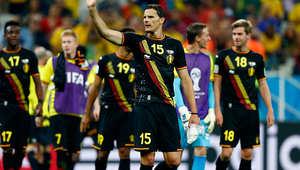 رابع منتخب يحصد العلامة الكاملة كان المنتخب البلجيكي، الذي تصدر المجموعة الثامنة بثلاثة انتصارات، بدأها بالفوز على الجزائر 2-1، ثم على روسيا بهدف دون رد، ثم على كوريا الجنوبية بنفس النتيجة.