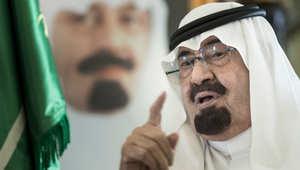 الملك السعودي الراحل عبدالله بن عبدالعزيز