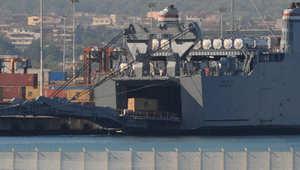 دمشق، سوريا (CNN)—أعلنت منظمة حظر السلاح الكيماوي، الأربعاء، عن نقل 600 طن متري من المواد الكيماوي المستخدمة في الترسانة الكيماوية السورية.
