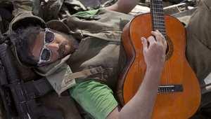 جندي إسرائيلي في استراحة