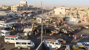 انفجار سابق في مدنية الصدر