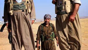 """رئيس وزراء العراق بأول مؤتمر صحفي: تسليح البشمرغة ليس خطرا وأرفض سياسة """"لي الذراع"""""""
