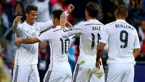 أبطال أوروبا: ريال مدريد يتجاوز ليفربول بثلاثية نظيفة