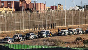 دوريات مكثفة للشرطة الإسبانية في مليلة لمنع تسلل المهاجرين من أفريقيا 14 أغسطس/ آب 2014