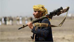 مقاتل موالي لعبدالملك الحوثي