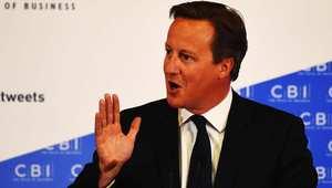 رئيس وزراء بريطانيا ديفيد كاميرون