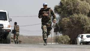 جندي من قوات حفظ السلام الدولية في الجولان