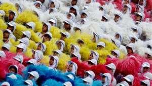 كوالالمبور، ماليزيا- جانب من احتفالات ماليزيا باليوم الوطني 31 أغسطس/ آب 2014