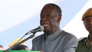 رئيس زامبيا مايكل ساتا