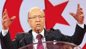 رئيس الوزراء التونسي السابق الباجي قائد السبسي يعلن ترشيحه لخوض الانتخابات الرئاسية في تونس