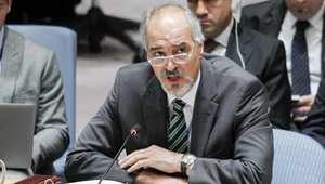 السفير السوري في الأمم المتحدة بشار الجعفري