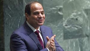 الرئيس المصري عبدالفتاح السيسي في الجمعية العامة للأمم المتحدة