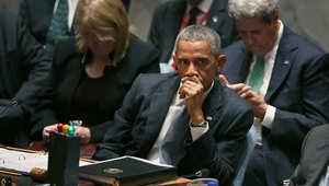 أوباما بمجلس الأمن: عدد المقاتلين الأجانب ممن هم بطريقهم إلى مناطق الصراع في الشرق الأوسط يفوق الـ15 ألفا ومن 80 دولة