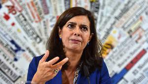 رئيسة البرلمان الإيطالي