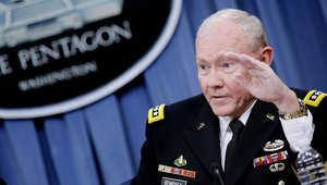 رئيس هيئة الأركان الأمريكية الجنرال مارتن ديمبسي