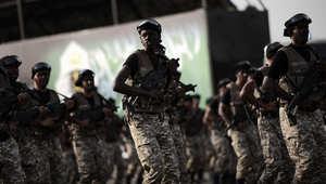 قرار ملكي سعودي بمشاركة الحرس الوطني بعاصفة الحزم والأمير متعب يؤكد الجاهزية التامة