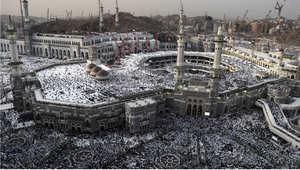 المسجد الحرام في مكة المكرمة خلال موسم الحج